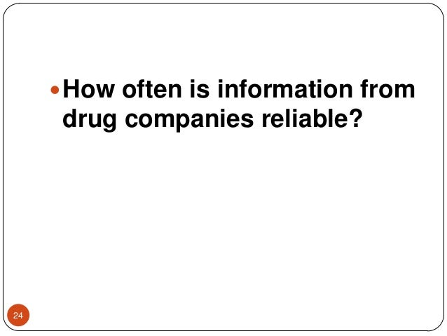 Drug promotional activities and critical appraisal of drug