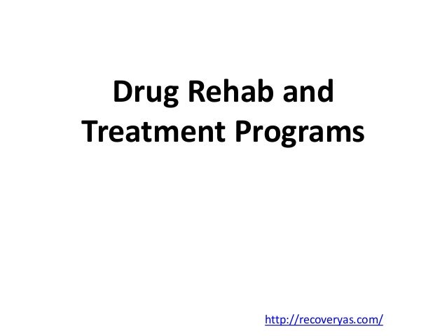 Drug recovery programme analysis
