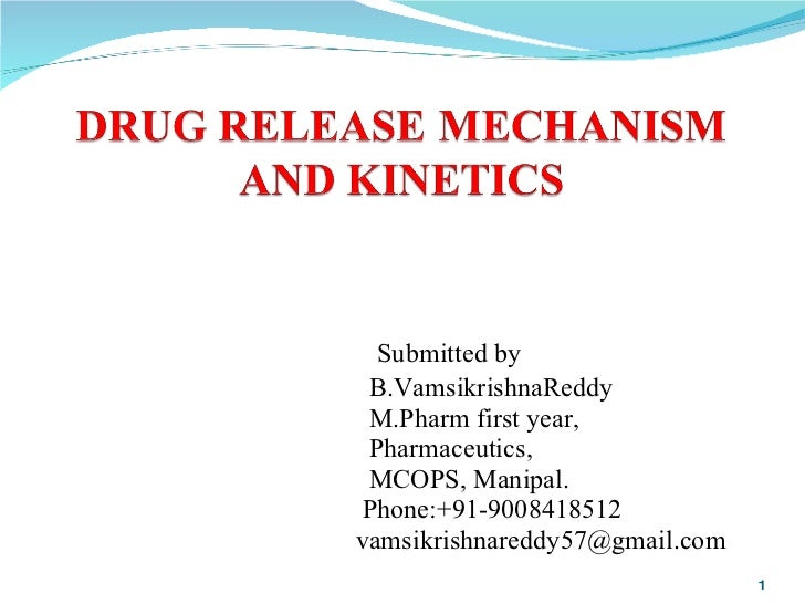 Submitted by  B.VamsikrishnaReddy M.Pharm first year,  Pharmaceutics, MCOPS, Manipal. Phone:+91-9008418512 [email_address]