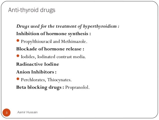 structure activity relationship of anti thyroid drugs and pregnancy