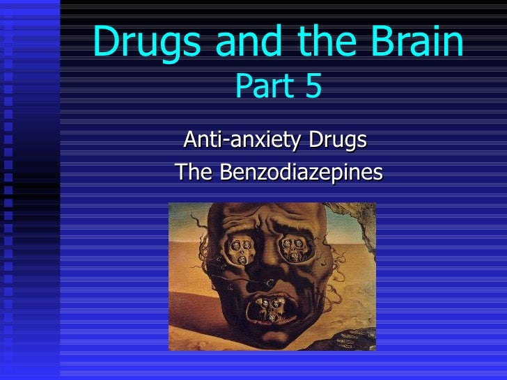 anti anxiety benzodiazepines
