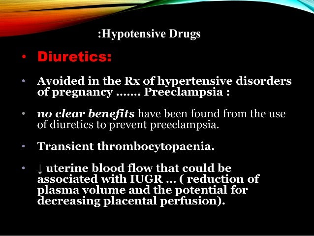 :Hypotensive Drugs • ACE inhibitors ... • • • •  C/I in pregnancy; Skull defects. Oligohydraminos 2ry to renal impairment ...