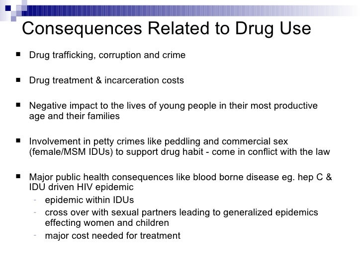 effects of drug Details about various drugs and how they can affect you when taken for long periods of time or in large doses.