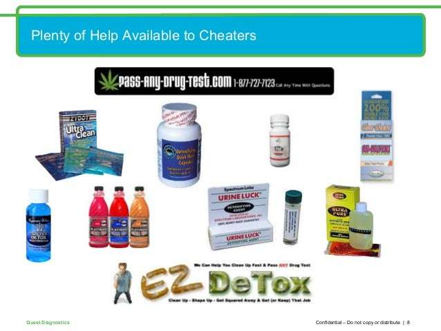 Drug Test Cheaters