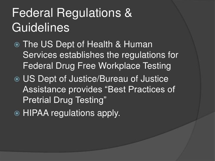 the issue of drug testing in the workplace Iv confidentiality of test results and workplace medical examinations  finally,  opponents to drug and alcohol testing question the need to test.