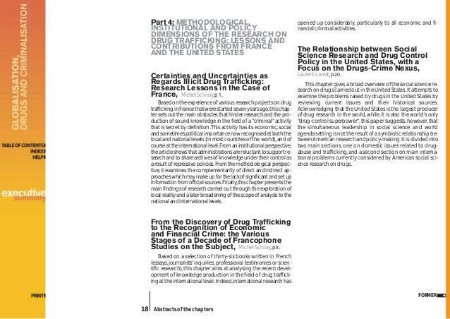 Drug cartel research paper