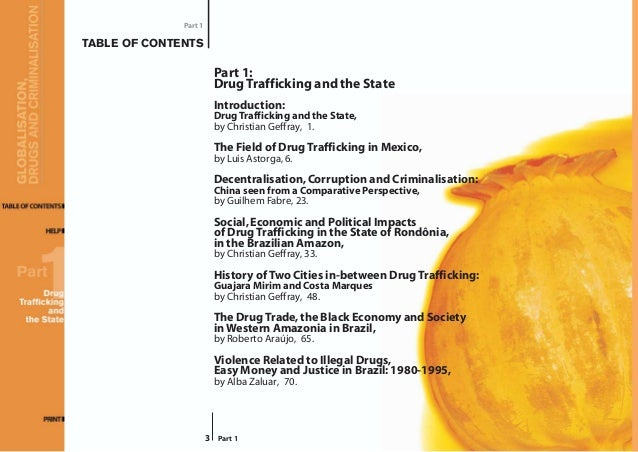 drug traffiking in mexico 1 portland state university mcnair research journal 2013 mexico, drug trafficking organizations, realism, and human security by nicole mcgee faculty mentor:.