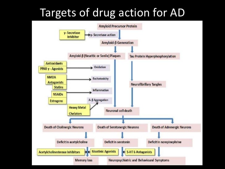 Drug Treatment Of Alzheimers Disease