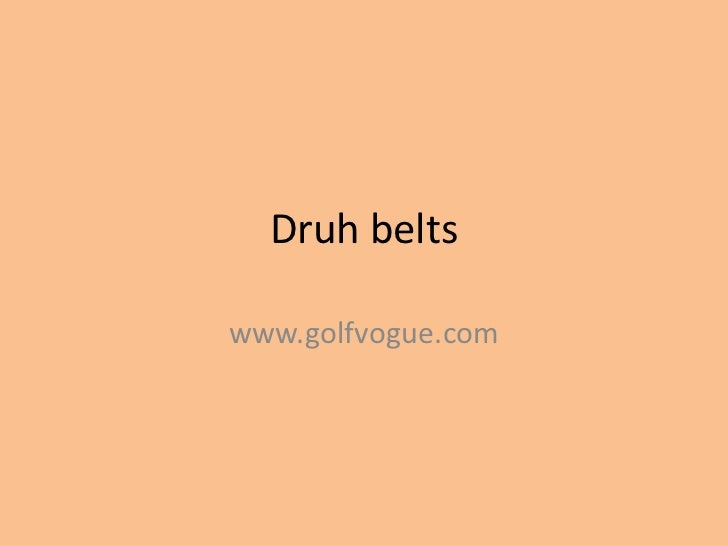 Druh beltswww.golfvogue.com