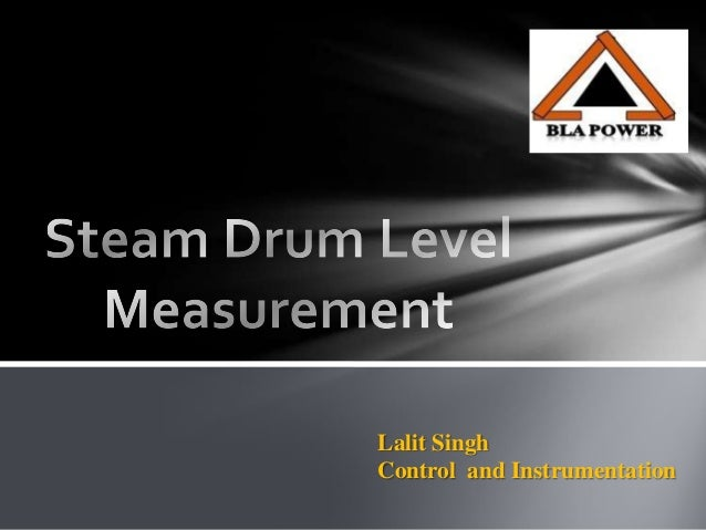 technique of boiler drum level measurement
