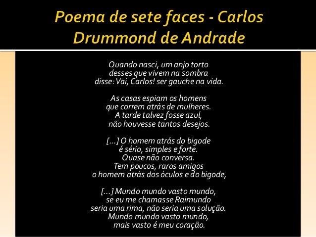 Quando Se Arrepender Vai Ser Tarde Demais: Intertextualidade Na Poesia De Carlos Drummond De Andrade
