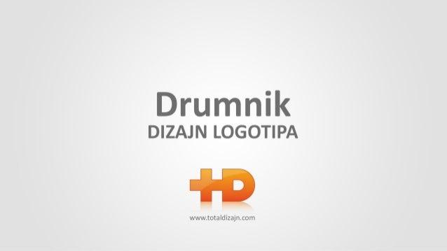 Logo Dizajn - Logo Design Drumnik Logotip