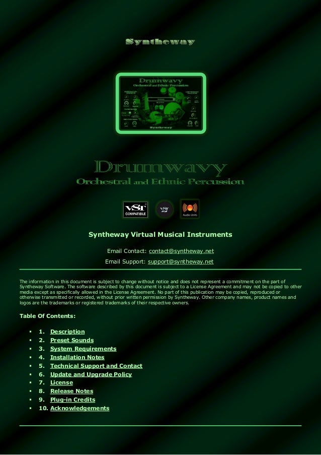 Drumwavy VST VST3 Audio Unit: Orchestral and Ethnic