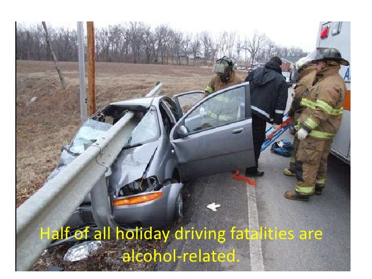 What Percent Of Car Crashes Are From Drinking And Driving