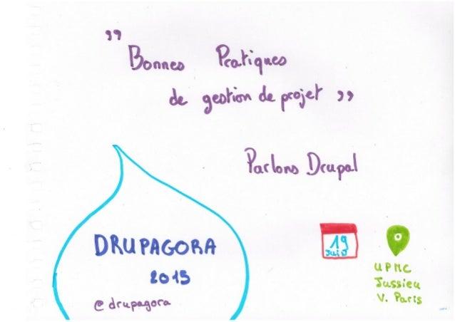La gestion de projet avec Drupal - Drupagora 2015