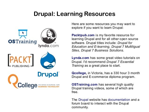 Drupal: My Search for a CMS
