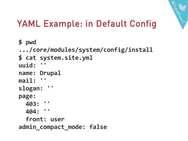 Configuration Management In Drupal 8 A Preview Drupaldays Milano 20