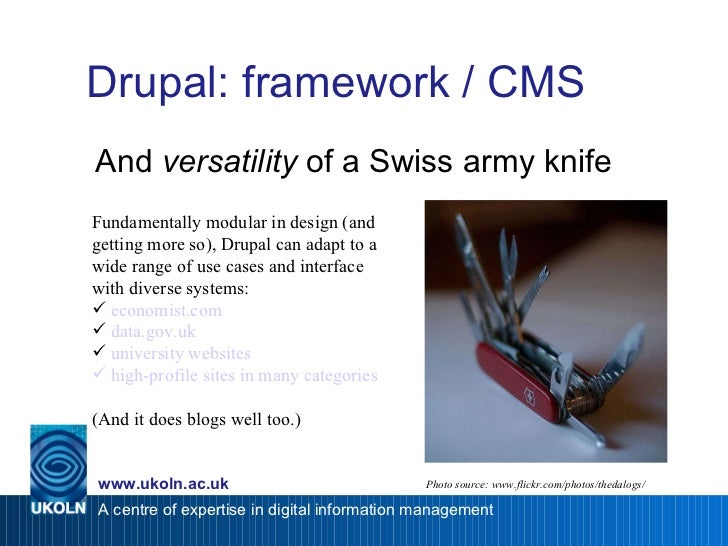 Doing Drupal: Quick Start Deployments via Distributions Slide 3