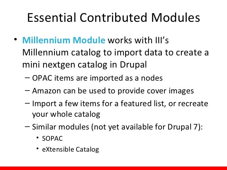 Modules: TipsAn investment in CMSsimplification and respectfor the user experiencecan yield an extremelypowerful system ru...