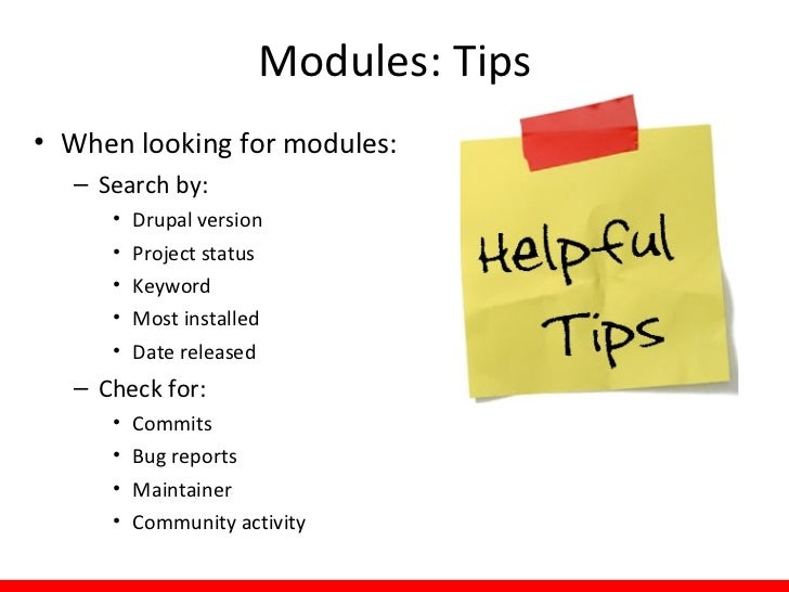 Custom Modules: Examples• Custom modules  – Beyond the scope of what I'll cover today  – You need a programmer  – Examples...