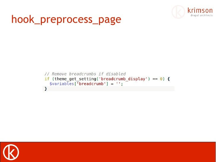 drupal hook preprocess template Implement preprocess function for particular view in templatephp of your theme in this preprocess function you can alter that specific view.