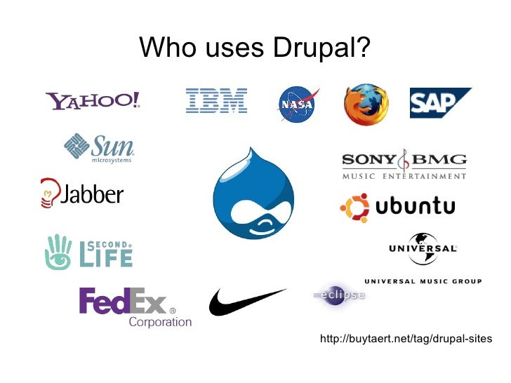 Image result for who uses drupal