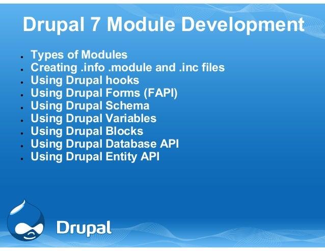 13th Sep, Drupal 7 advanced training by TCS