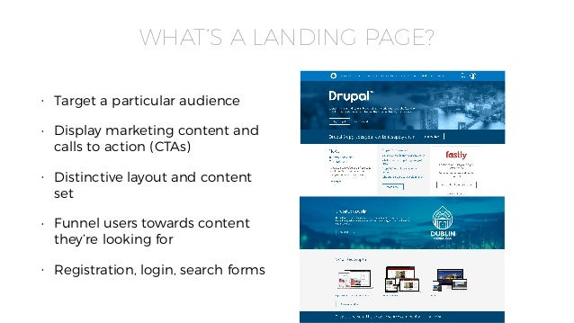 Creating Landing Pages and Layouts for Drupal 8 - DrupalCon Baltimore