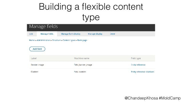 Drupal 8 Sitebuilding with Paragraphs, Display Suite