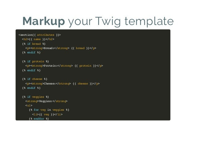 Drupal 8 theme system the backend of frontend for Twig template variables