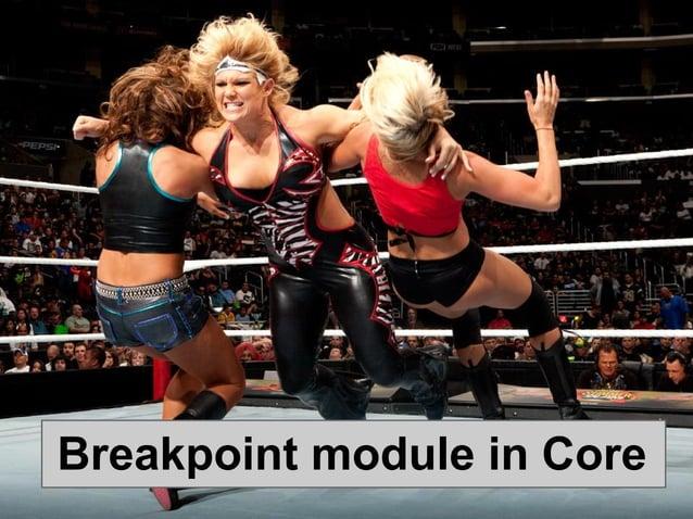 Breakpoint module in Core