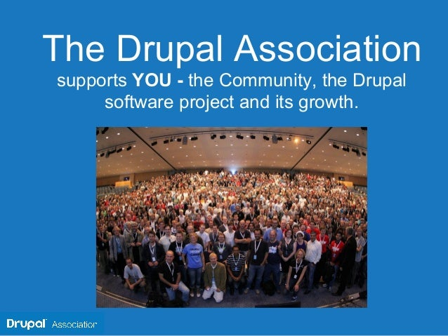 Drupal association slides us 2013