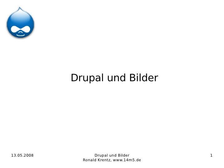 Drupal und Bilder
