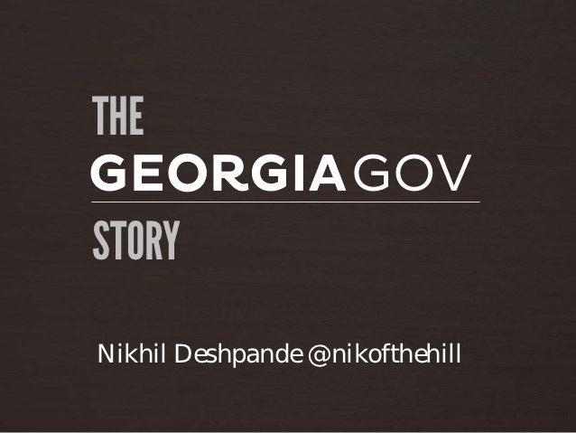 THESTORYNikhil Deshpande @nikofthehill