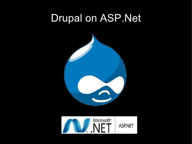 Drupal on ASP.Net