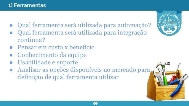 2) Ambiente de teste