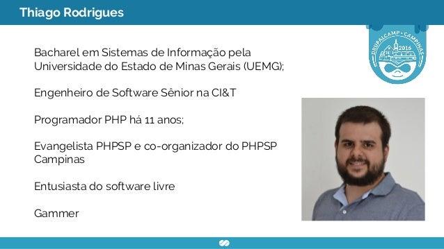 Construção e provisionamento de ambientes  de desenvolvimento virtualizados Slide 2