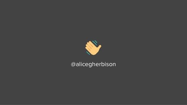 Signal's Alice Herbison @ Drupal Camp Scotland 2018 Slide 2