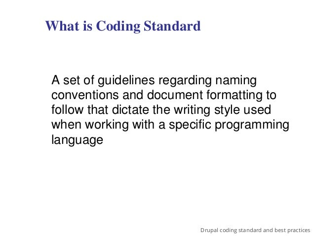 drupal coding standards and best practices, Cephalic Vein