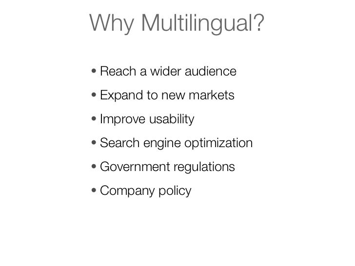 Multilingual Content in Drupal 7 & 8 at DrupalCon Munich slideshare - 웹