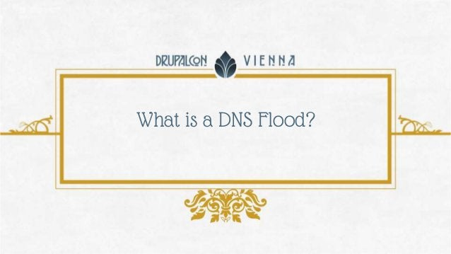 What is a DNS Flood?