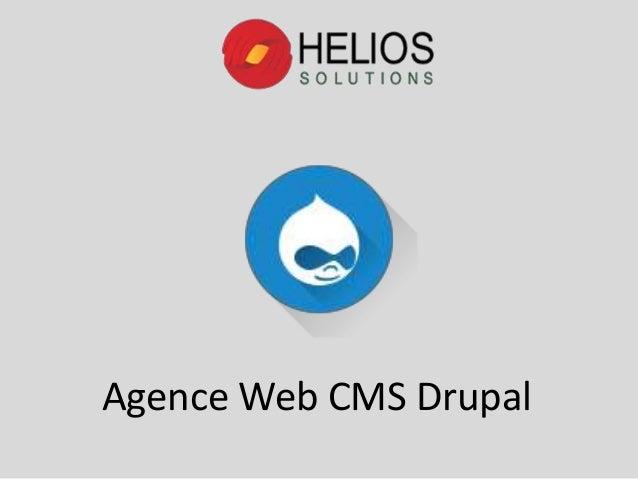 Agence Web CMS Drupal