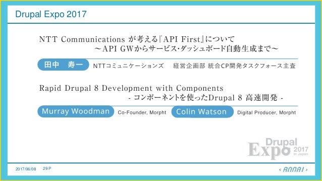 2017/06/08 29 P Drupal Expo 2017