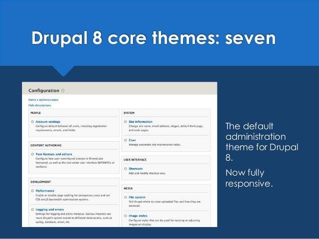 Drupal 8: frontend development