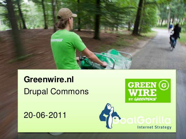 Greenwire.nl<br />Drupal Commons<br />20-06-2011<br />