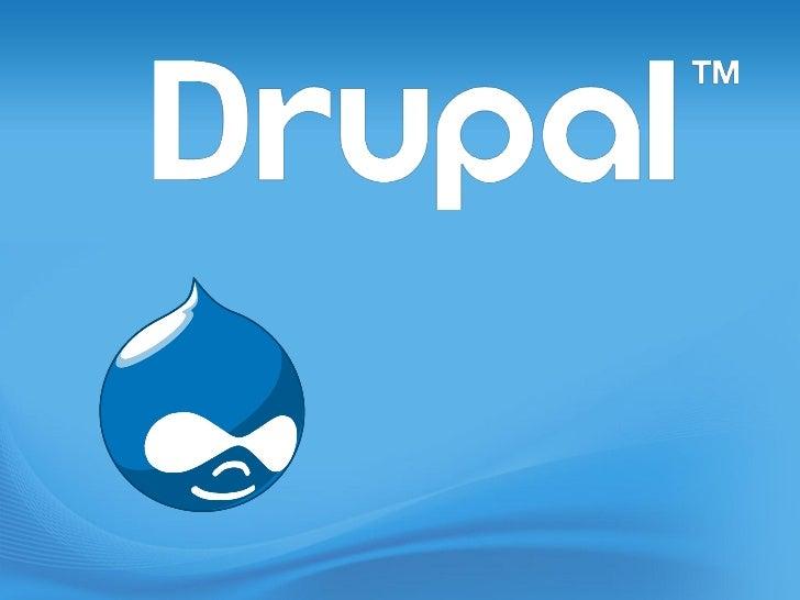 Was ist Drupal ?• Drupal ist ein kostenloses, Open Source Content  Management System.• Es ermöglicht die einfache Erstellu...