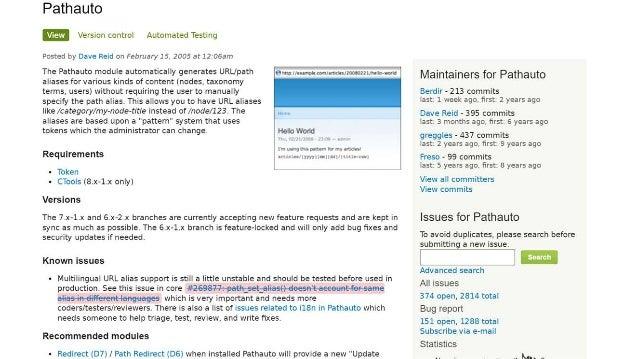 Drupal 7 Search Engine Optimisation