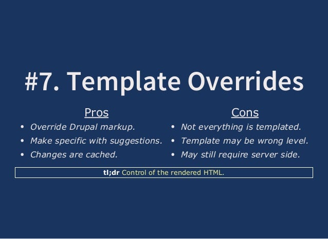 The flexibility of drupal 61 7 template overrides pros override drupal pronofoot35fo Choice Image