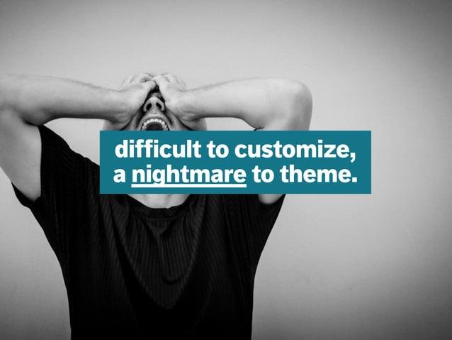 mazze.ch | matthias walti informationsarchitekt difficult to customize, a nightmare to theme.