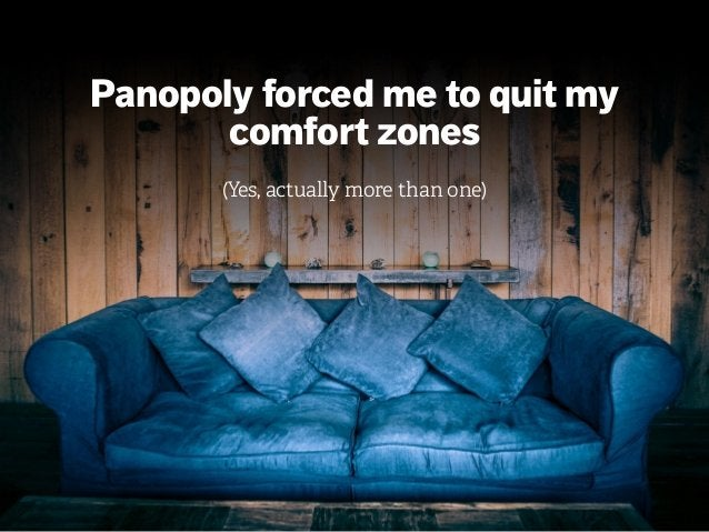 mazze.ch | matthias walti informationsarchitekt Panopoly forced me to quit my comfort zones (Yes, actually more than one)
